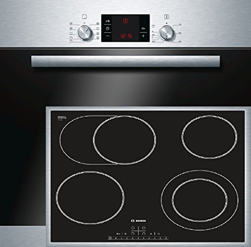 Bosch HBD32PS50 Backofen-Kochfeld-Kombination / A / 66 L / 3D Heißluft Plus / Direct Select / edelstahl