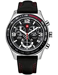 Swiss Military By Chrono Analogue Black Dial Men's Watch SM34016.04