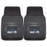 Fanmats 08904 Nfl - Seattle Seahawks Heavy Duty 2-Piece Vinyl Car Mats