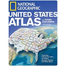 National Geographic United States Atlas for Young Explorers, Third Edition