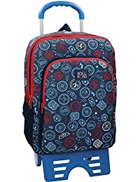 Roll Road Go Mochila escolar, 42 cm, 23.56 litros, Multicolor