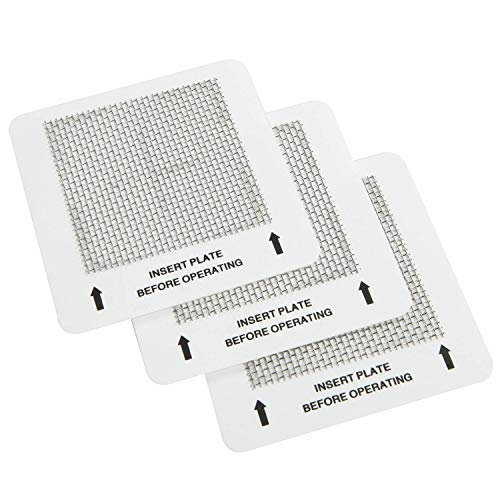 Zackman Scientific Universal-Ozon-Ozon-Platten für alle Ozongeneratoren, 11,4 x 16,5 cm, 3 Packungen -