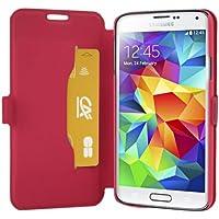 Mocca Design ERSA48 Etui Flip pour Samsung Galaxy S5 Rose