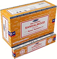 Nag Champa Incense Stick Packs - Hand Rolled & Non-Toxic - Perfect for Meditation and Yoga - Home Fragranc