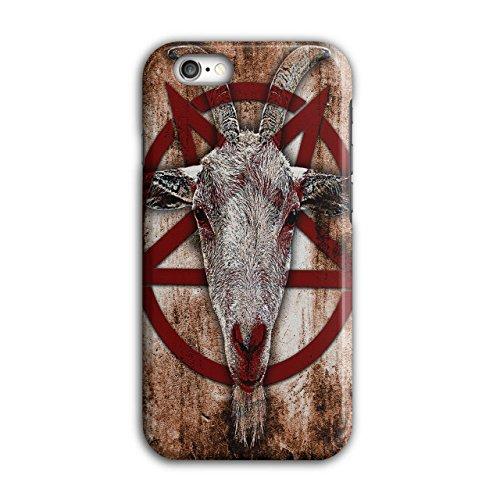 Okkulte Ziege Symbol satanistischen iPhone 6 / 6S Hülle | (Ziege Kostüm Katze)