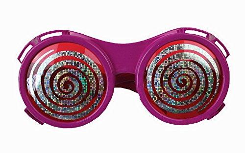 Lustige Party Brille Entzückende Glas-Parteiversorgungs Dizzy-Augen- Rose
