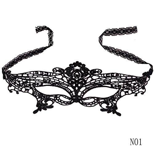 arz Ball Spitze Maske Catwoman Maskerade Tanzen Abendparty Augenmaske Katze Halloween Kostüm ()