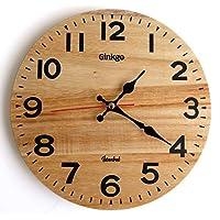 Ginkgo 27cm Ahşap Duvar Saati S-275P0001L