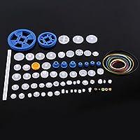 Juego de engranajes de plástico juego de poleas para correas dentate Juego de engranajes Corona Juego de engranajes para coches<br/>(80kinds)