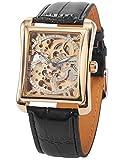 EASTPOLE Skelett Elegante Klassisch mechanische Automatik Herrenuhr Armbanduhr Uhr + EASTPOLE Geschenkbox PMW079