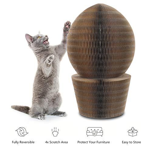 YOUTHINK Rascador de CartóN para Gatos