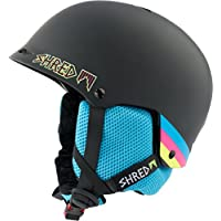 Shred Hombre Half Brain Helmet, invierno, hombre, color Shrasta, tamaño medium