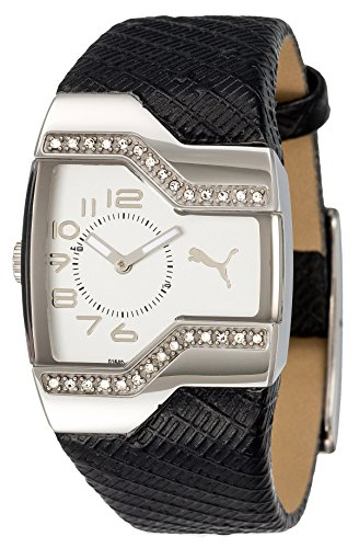 Puma Time - PU101642003 - Montre Femme - Quartz - Analogique - Bracelet Cuir Noir
