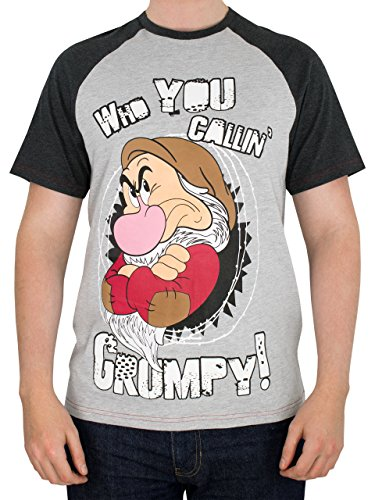 Disney BrummbärHerren Grumpy T-Shirt Large