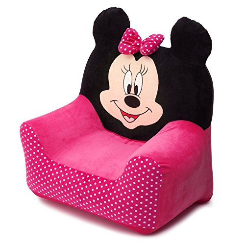 Kindersessel Auswahl Frozen - Cars - Micky - Minnie Maus - Sofa Stuhl Sessel (Minnie Maus)