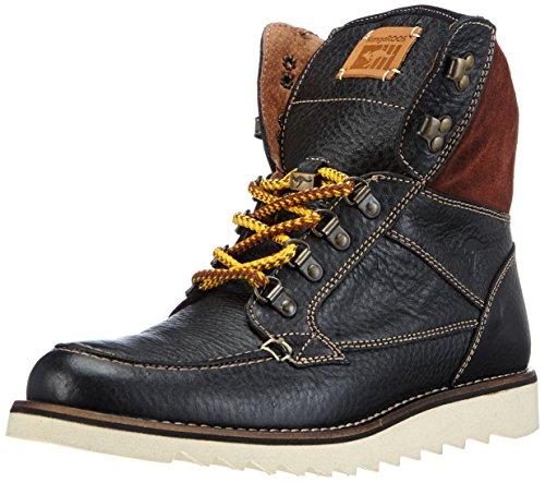 Sneakers Alte Uomo Top Canguro Capo Nero (blk 500)