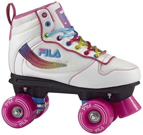 Fila Skates ROFIVANWH839000 Roller Quad Femme, Blanc, Taille : 39