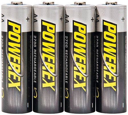 ELV Powerex NiMH Battery Mignon AA 2700 mAh