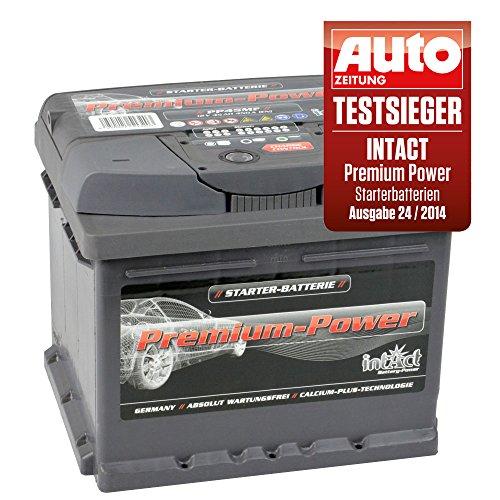 intact Premium Power PP45MF Autobatterie 12V 45Ah Testsieger GTÜ 2014