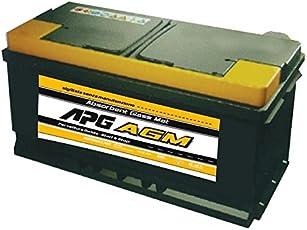 APG XAG124 - Batteria auto con tecnologia AGM e recupero di energia in frenata, 80Ah