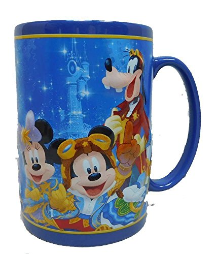 25 Jahre Disneyland Paris Mickey Minnie Mouse Disney Entdecker MUG Kaffeetasse