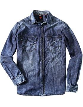 Strellson Sportswear Herren Pullover Dave-W Sweater, Größe: M, Farbe: Blau