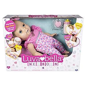 Luvabella 6053413 - Muñeca interactiva con Expresiones y Que Habla (versión en inglés)