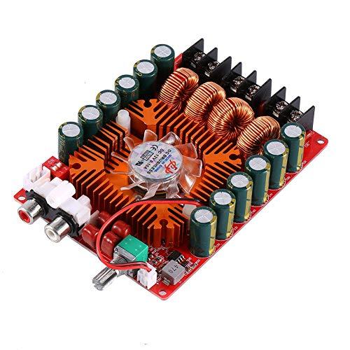 Digitale Leistungsverstärkerplatine,TDA7498 Dual-Channel Digital Audio Stereo-Power Verstärker Board,unterstützt den BTL-Modus,für Auto-Fahrzeug-Computer-Lautsprecher DIY,2X160W,DC 15-36V