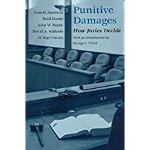 [(Punitive Damages : How Juries Decide)] [By (author) Cass R. Sunstein ] published on (September, 2003)