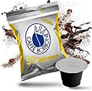 Caffè Borbone Nespresso Compatible Capsule (50pcs) ORO