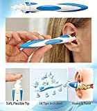 Smart swab ear wax cleaner,ear cleaning tools,ear wax removal with 16 replacement heads