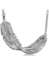 PRINCESS NINA Whisper 925 Sterling Silver Plume Series Pendant Necklace, Bracelet for Women, Christmas Gifts, Elegant Jewellery Box, Every Special Moment