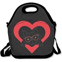 Preisvergleich für Lunchtasche für Damen oder Herren Lunchtasche Lunch Box Food Bag Weiß Halsband