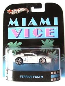 Ferrari F512 M Miami Vice 1:64 Hot Wheels