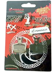 Formula FD40105-10 - Guarnición de frenos Feder RX, Mega, TheOne, R1, R1R, Oval, color gris