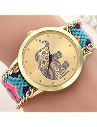 2feb1cd0423e Amazon.es: Relojes Pulsera Grandes - Última semana / Mujer: Relojes