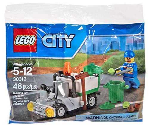 LEGO City Garbage Truck Mini Set #30313 [Bagged]  available at amazon for Rs.1694
