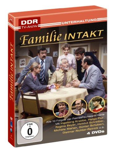 Familie Intakt - DDR TV-Archiv (4 DVDs) -