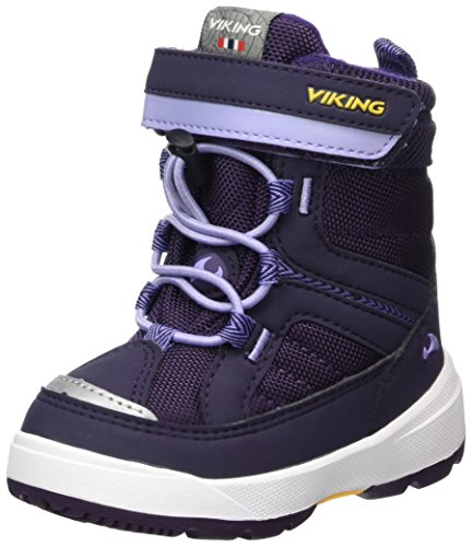 Viking Unisex-Kinder Playtime Bootsportschuhe, Violett (Purple/Lavender), 28 EU