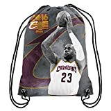 FOCO NBA Cleveland Cavaliers James L. # 23 2016 Champions Kordelzug Rucksack Sports Fan Home Decor, Rot, One Size