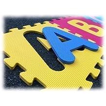 ASC Childrens Alphabet Flooring Play Mats Tiles