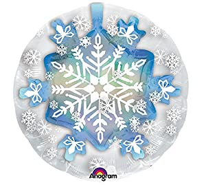 Amscan International 3396201 - Globo de Lago de Nieve