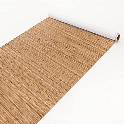 Apalis Klebefolie - Helle Bambus Optik - Folie mit schöner Maserung 50 x 100 cm