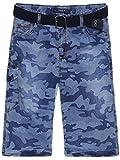 BEZLIT Jungen Jeans Bermuda Shorts in Camouflage 22683, Größe:134