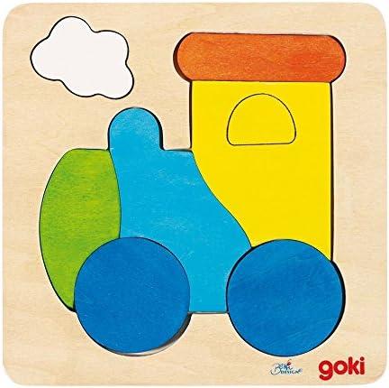Fuxi double à, viens! Goki Jouetprive-Puzzle Locomotive 2   Elaborer
