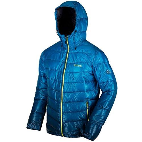 Regatta Mens Azuma Lightweight Durable Water Repellant Walking Jacket Nylon-walking-mantel