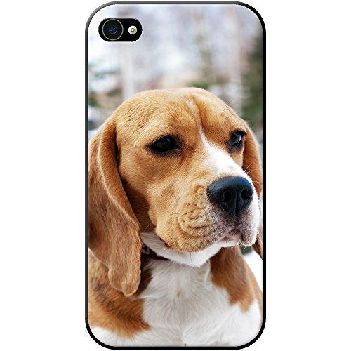 Beagle-Hund-Hard-Case-fr-Handys-plastik-Pure-Bred-Beagle-Dog-Apple-iPhone-4s-4