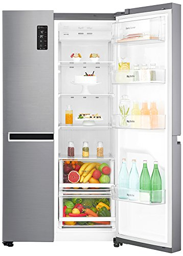 Lg 687 L Frost Free Side By Side Refrigeratorgc B247sluvapzqebn