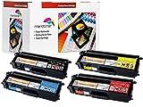 Toner / Drucker-Patronen 4 Kompatible zu Brother dcp 9055cdn, TN-320BK ,TN320BK ,TN-320C ,TN320C ,TN-320M ,TN320M TN-320Y ,TN320Y / TN-325BK ,TN325BK ,TN-325C ,TN325C ,TN-325M ,TN325M TN-325Y ,TN325Y Toner für Brother DCP 9055 / 9270 -