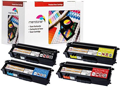 Preisvergleich Produktbild Toner / Drucker-Patronen 4 Kompatible zu Brother dcp 9055cdn, TN-320BK ,TN320BK ,TN-320C ,TN320C ,TN-320M ,TN320M TN-320Y ,TN320Y / TN-325BK ,TN325BK ,TN-325C ,TN325C ,TN-325M ,TN325M TN-325Y ,TN325Y Toner für Brother DCP 9055 / 9270 -